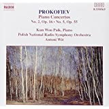 Prokofiev: Piano Concertos No. 2, Op. 16 & No. 5, Op. 55