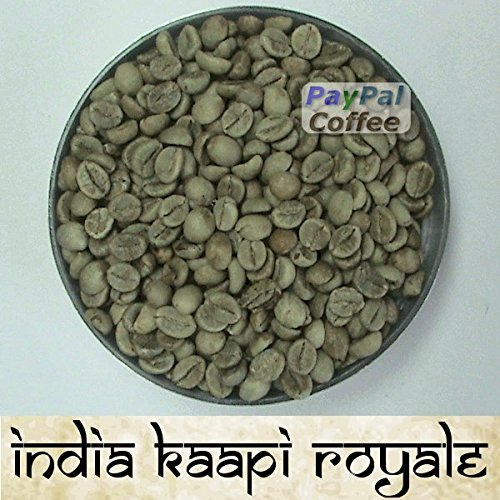 India 20 Lbs Raw Green Coffee Beans Robusta Kaapi Royale Indian