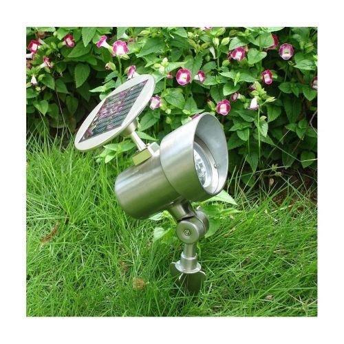 Solar-Strahler, Gartenlampe, Solarleuchte aus Aluminium