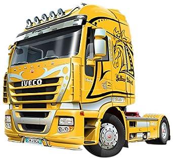"Amazon.com: Italeri Iveco Stralis ""Yellow Devil"" Model Kit: Toys"