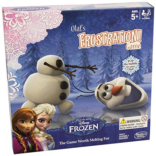 Trouble Frozen Frustration Board Game