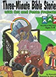 img - for Three Minute Bible Stories with Cut and Paste Projects (Three-Minute Bible Stories) book / textbook / text book