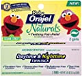 Orajel Naturals Teething Daytime and Nighttime Twin Pack, 0.36 Ounce