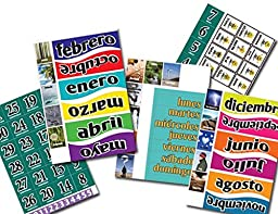 Spanish Magnets For Daily Calendar