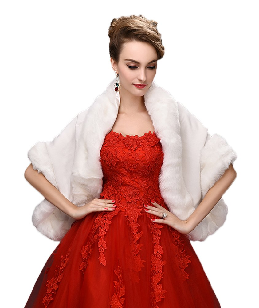 Fashion style Fur wraps and shawls for women for lady