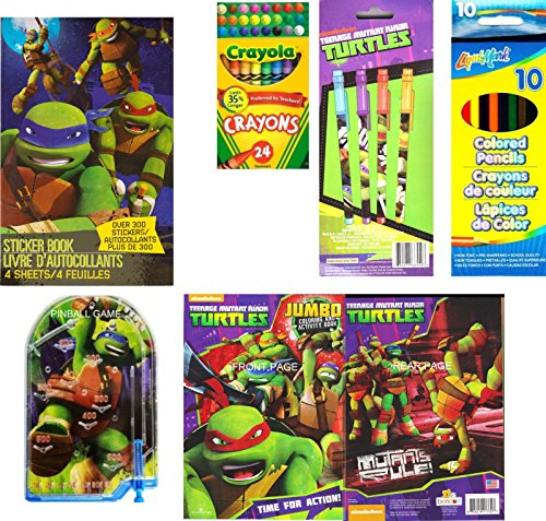 Exclusive Teenage Mutant Ninja Turtles TMNT Large Multi Piece Set (Blue Ninja Turtle Name)