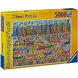 Ravensburger 17427 - James Rizzi - 5000 Teile Puzzle (153x101 cm)