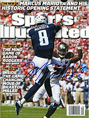 Marcus Mariota Tennessee Titans Autographed September 21st, 2015 Sports Illustrated - Fanatics Authentic Certified