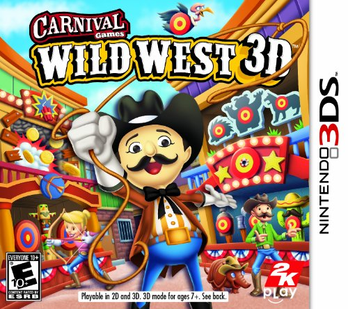 Carnival Games Wild West 3D - Nintendo 3Ds back-108242