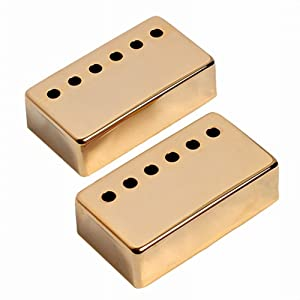 GU GU 1set of 2pcs Humbucker Neck & Bridge Guitar Pickup Covers for Gibson Electri Guitar Chrome/Gold/Black