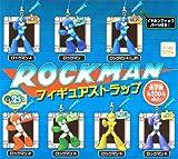 ROCKMAN -ロックマン- フィギュアストラップ ☆レア抜き6種セット★