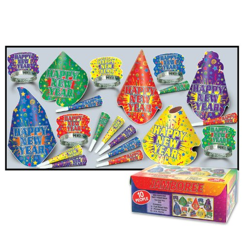 Beistle 88060-NR Jamboree Party Favors, 1 Assortment Per Package - 1