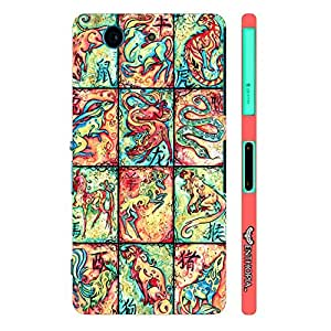 Sony Xperia Z3 Compact CHINESE ZODIACS designer mobile hard shell case by Enthopia