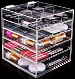 Home Decoration High Quality Handmade Clear Acrylic Makeup Organizer