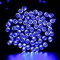 Qedertek 100 LED Waterproof Solar String Lights, 40FT Starry Fairy Lighting Decor for Christmas Trees, Garden, Patio, Wedding, Party and Holiday Celebration, Multi-color