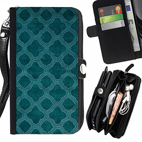 rencase-flip-wallet-diary-pu-leather-case-cover-with-card-slot-for-apple-iphone-se-5-5s-teal-church-
