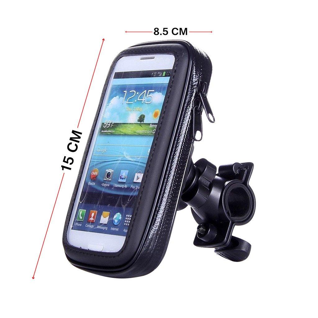 Speedwav waterproof bike mobile phone holder case upto 5.9 inch ...