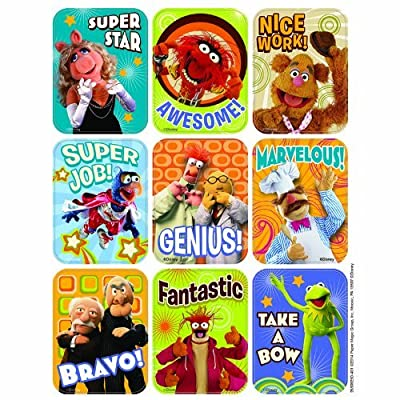 MUPPETS GIANT STICKERS by Eureka School