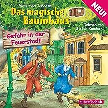 Gefahr in der Feuerstadt (Das magische Baumhaus 21) Hörbuch von Mary Pope Osborne Gesprochen von: Stefan Kaminski