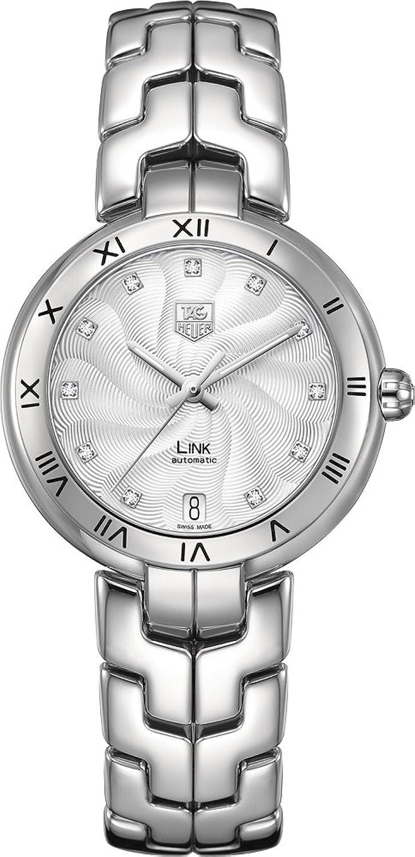 TAG Heuer Women's WAT2311.BA0956 Link Analog Display Swiss Automatic Silver Watch