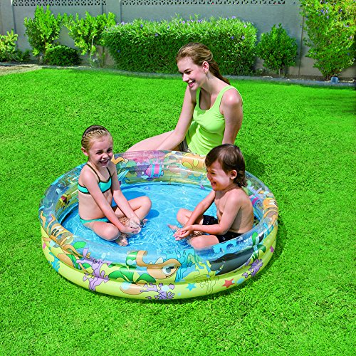 Bestway 51009 piscina ocean life 3 anelli piscine - Piscine gonfiabili per bambini ...