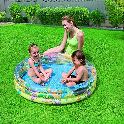 Bestway 51009 piscina ocean life 3 anelli piscine - Piscine gonfiabili bambini ...