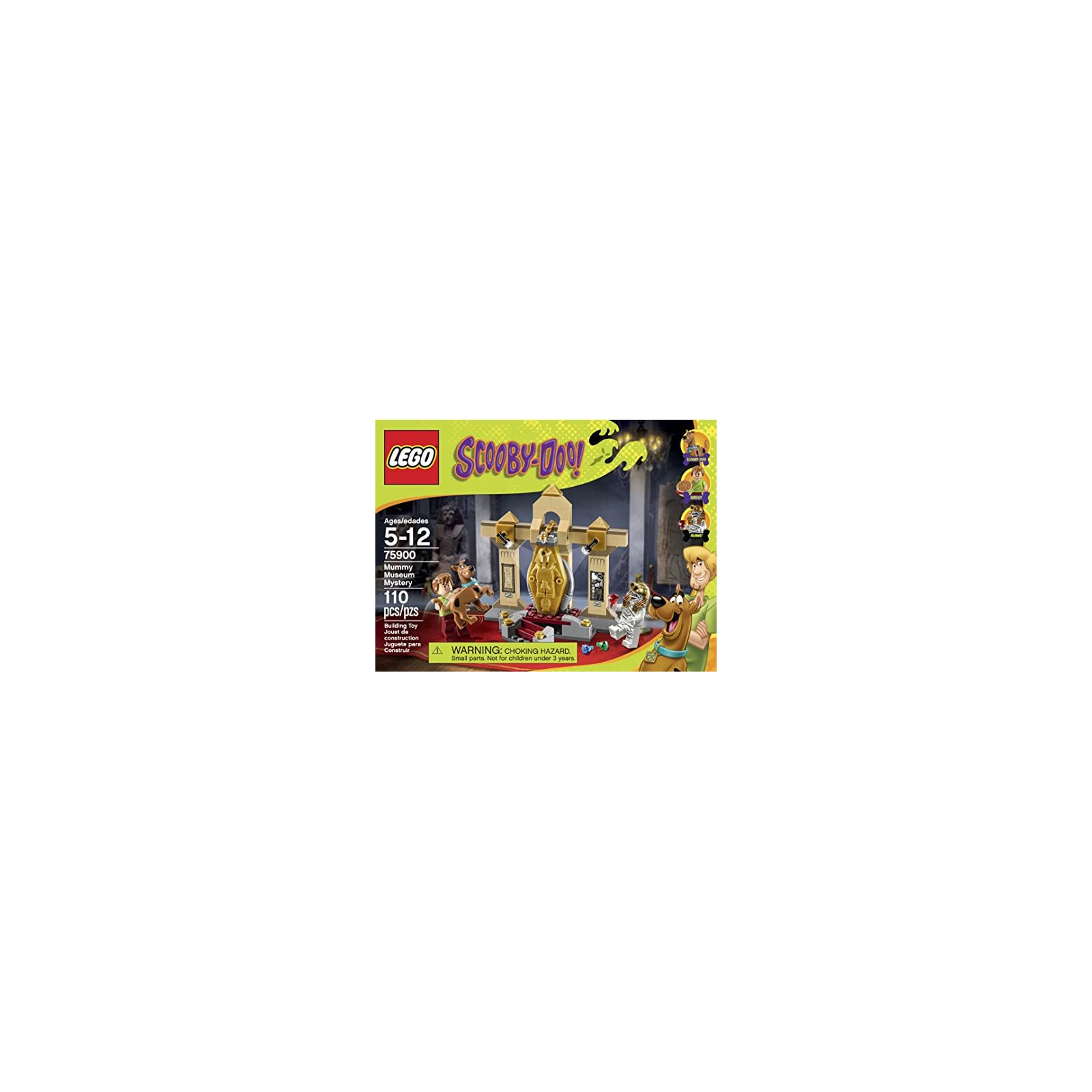 LEGO Scooby Doo 75900 Mummy Museum Mystery Building Kit