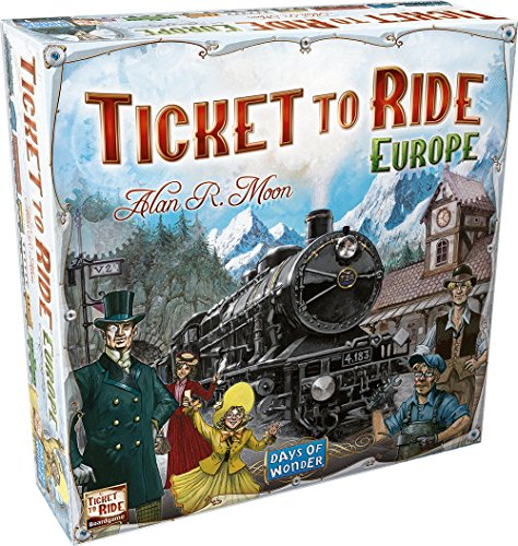 Ticket To Ride - Europe (Ticket To Ride Uk compare prices)