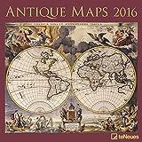 Antike Karten 2016- Brosch�renkalender/Kunstkalender/Wandkalender- 30 x 30 cm