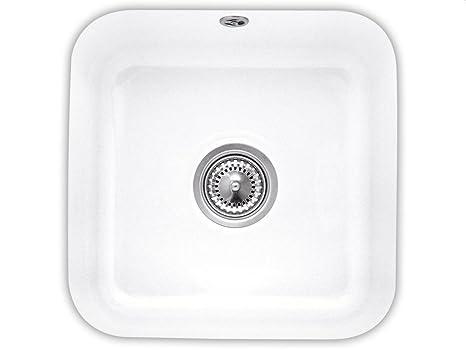 Villeroy & Boch Cist Erna 50Snow White Undermount Ceramic Sink, White