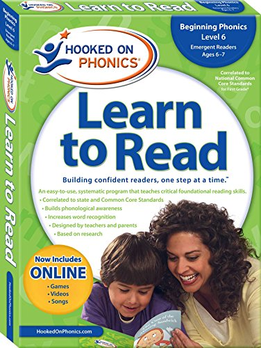 Hooked on Phonics Learn to Read First Grade: Level 2