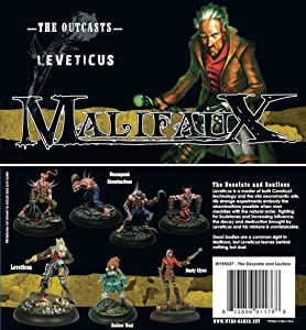 Malifaux Outcasts: Leveticus Box Set (The Desolate and Soulless)