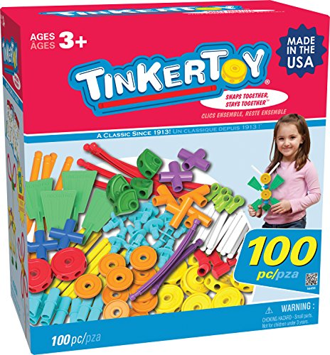Tinkertoy 100 Piece Essentials Value Set front-70975
