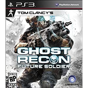 Tom Clancy Ghost Recon Future Soldier PS3 Video Game