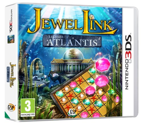 Jewel Link: Legends of Atlantis (Nintendo 3DS)