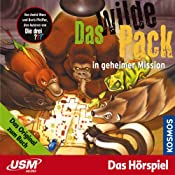Das wilde Pack in geheimer Mission (Das wilde Pack 7) | André Marx, Boris Pfeiffer