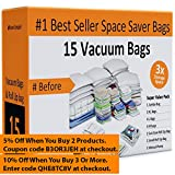 Home-Complete Space Saver Bags Storage Bundle (15 Items)