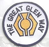 THE GREAT GLEN WAY SCOTLAND FORT WILLIAM TO INVERNESS WORLD EMBROIDERED PATCH BADGE