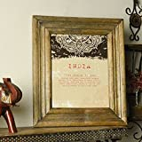Casa Decor Premium Collection Of Wooden Photo Frame 8x10 Photos Xmas Hanging Or Table Top Decorations With Rustic...
