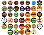 40-count DECAF COFFEE Single Serve Cups For Keurig K Cup Brewers Variety Pack Sampler