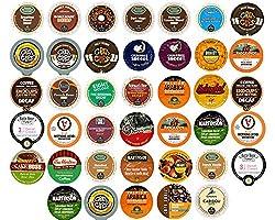 40-count DECAF COFFEE Single Serve Cups For Keurig K Cup Brewers Variety Pack Sampler