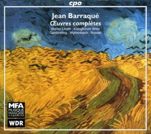 Oeuvres complètes de Jean Barraqué (1928-1973) chez CPO 61qMjWN5TOL