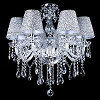 Chandelier,TOPMAX 5 Light Crystal Ceiling Lamp from TOPMAX