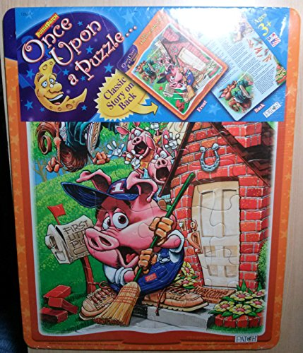 Once Upon A Puzzle 24 Pc Jigsaw Puzzle with Classic Story on Back