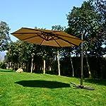 Outsunny 10' Patio Hanging Umbrella O...