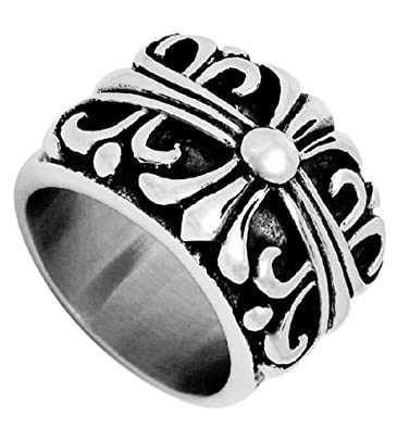 Generic Women's Steel Wide Wedding Ring