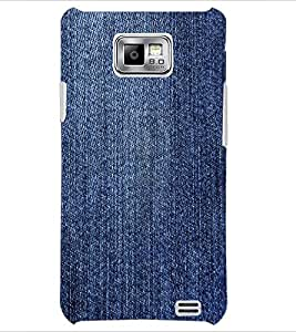PrintDhaba Denim D-2429 Back Case Cover for SAMSUNG GALAXY S2 (Multi-Coloured)