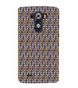 Abstract Art 3D Hard Polycarbonate Designer Back Case Cover for LG G3 :: LG G3 D855