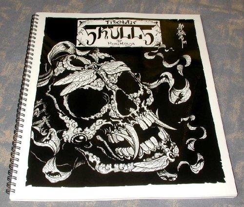 Tibetan Skulls (Tiben Skull Tattoo Design)