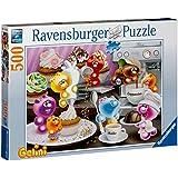 Ravensburger 14144 - Gelini: Frühstückskaffee - 500 Teile Puzzle